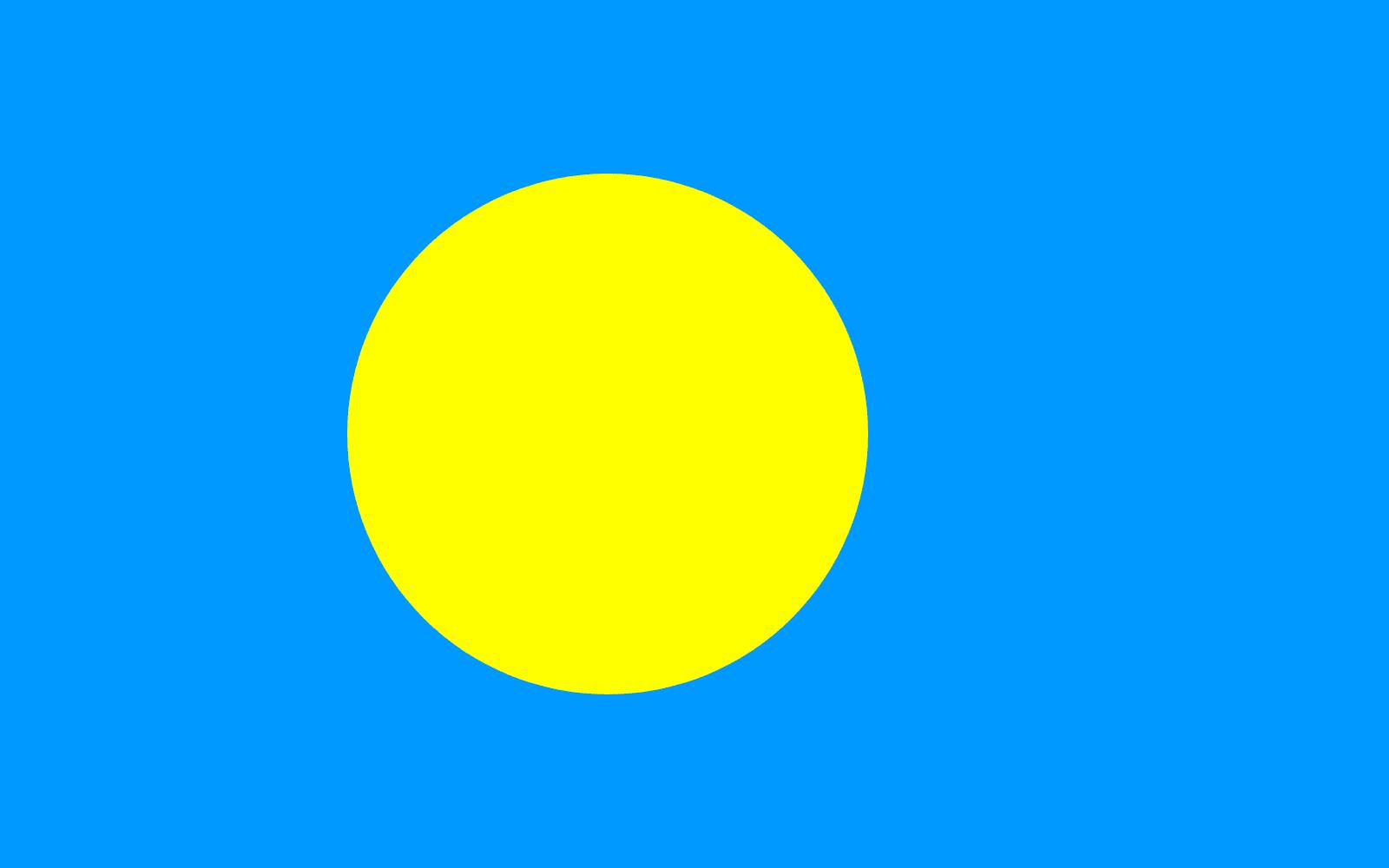drapeau de palaos