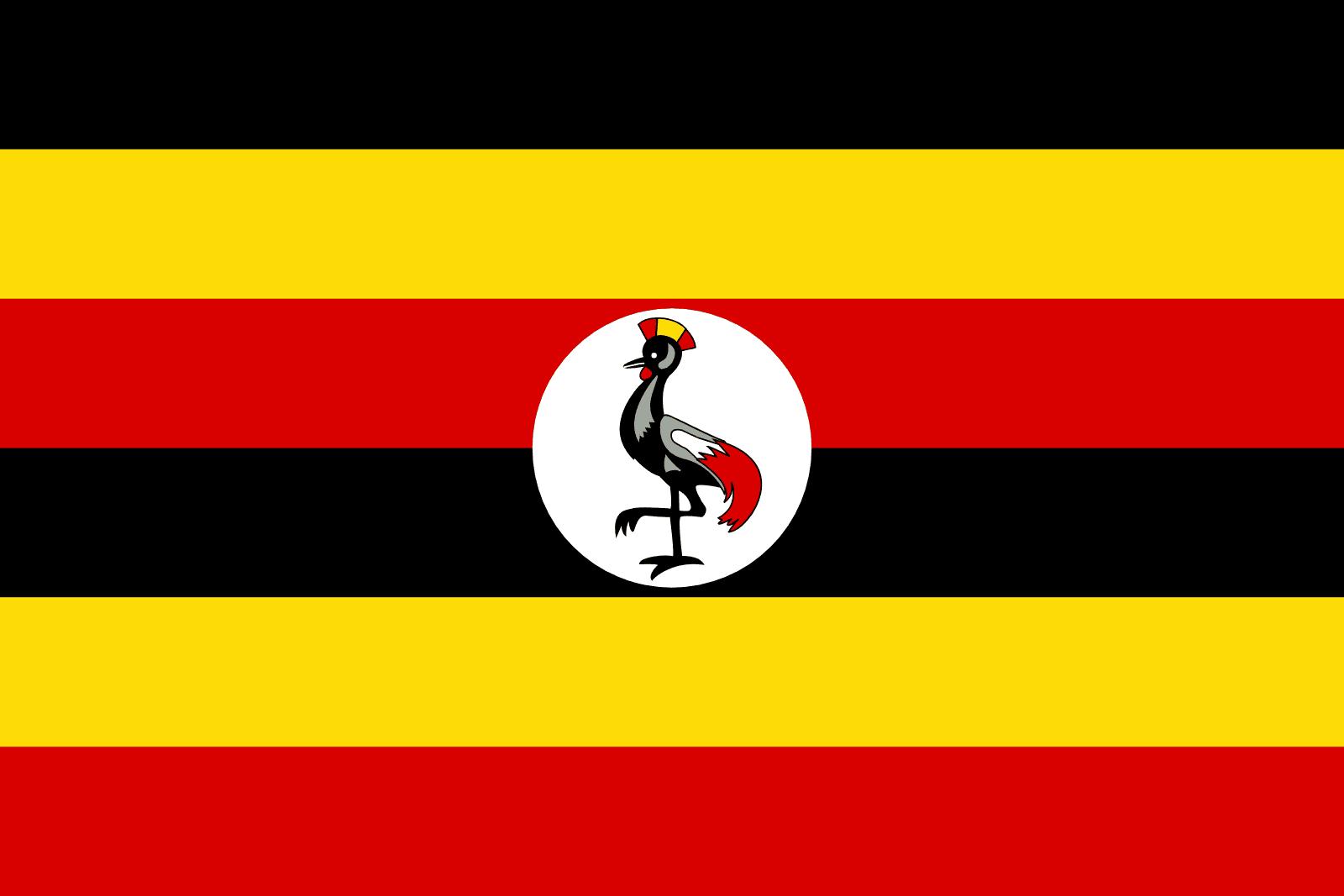 drapeau de l ouganda