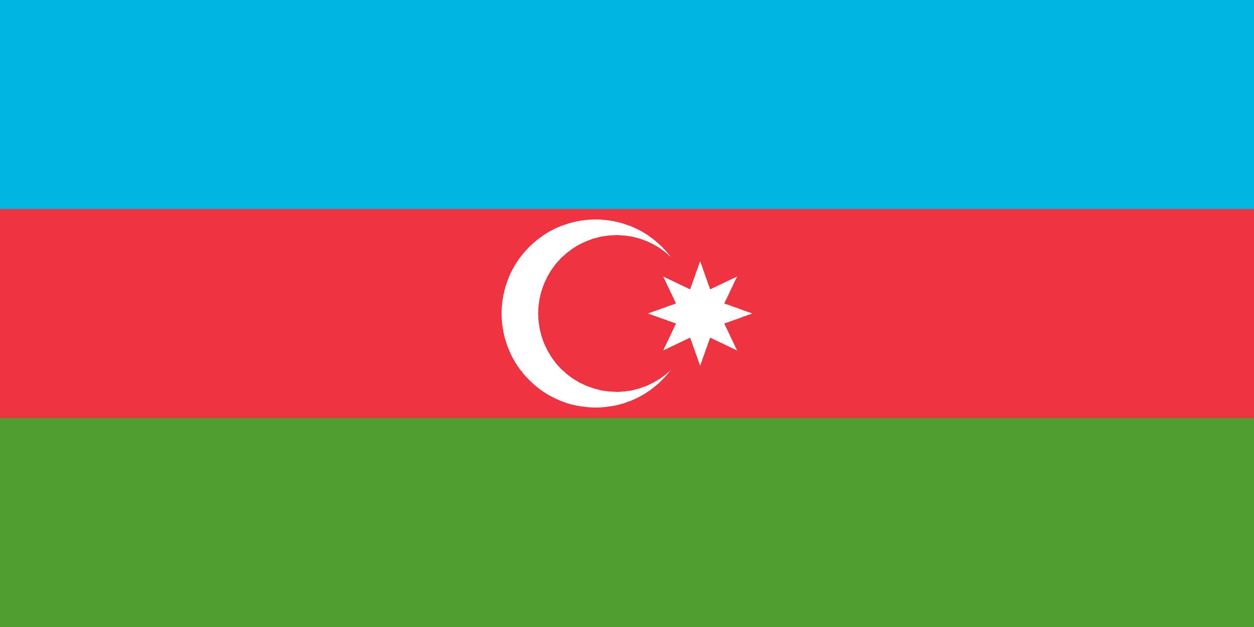 drapeau de l azerbaidjan