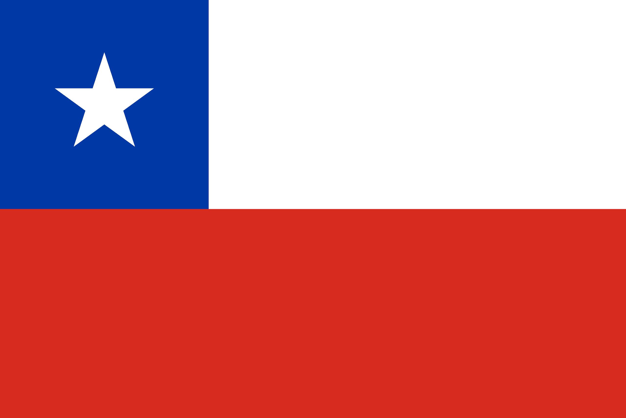 drapeau du chili